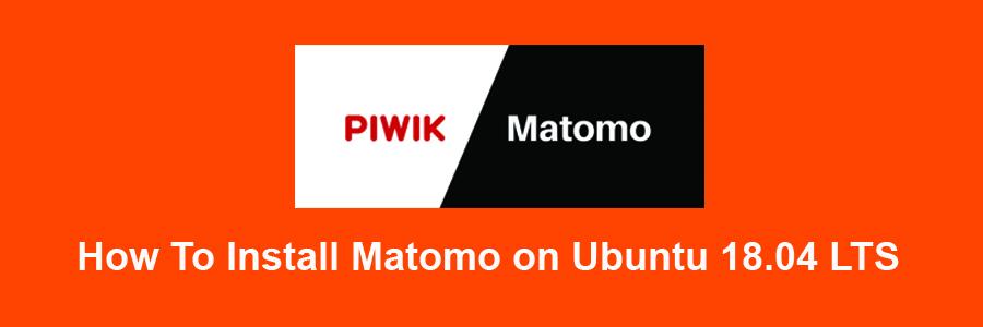Install Matomo on Ubuntu 18