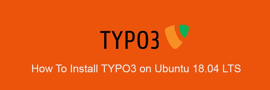 Install TYPO3 on Ubuntu 18