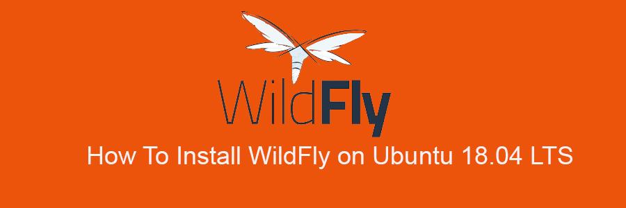 Install WildFly on Ubuntu 18