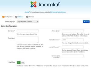 joomla-web-interface