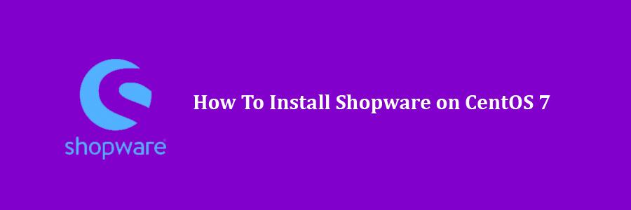Install Shopware on CentOS 7