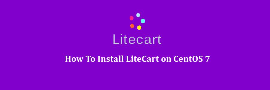 LiteCart on CentOS 7
