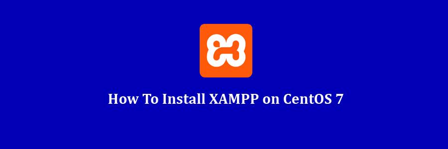 install xampp on centos 6.7
