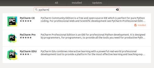 install pycharm on ubuntu 18.04