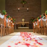 Wellshire's chapel can be decorated for beautiful weddings