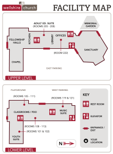 Map of the Wellshire building