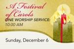 Festival of Carols on December 6
