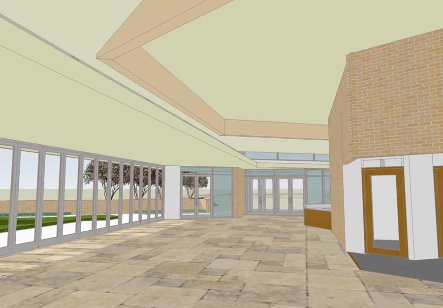 Narthex Interior