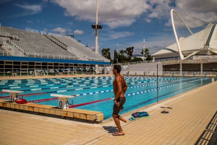 A Syrian swimmer with one leg..from the boats of asylum to the Tokyo Olympics
