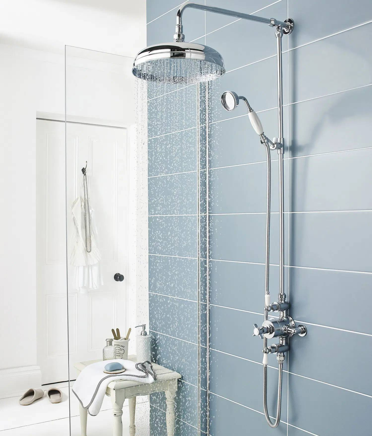 how to tile a shower wall step by