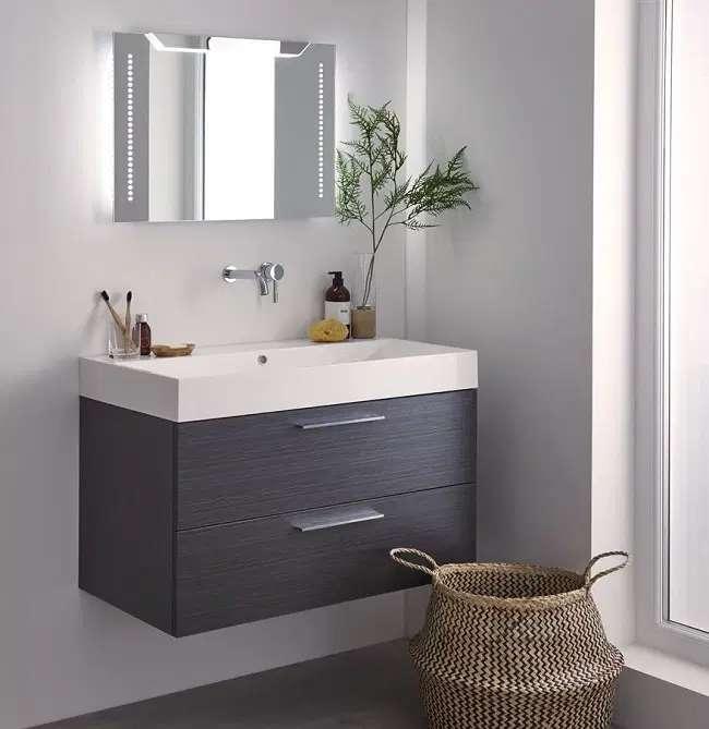 miroirs de salle de bain