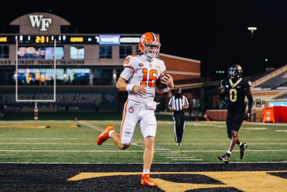 Lawrence and Etienne Shine as Clemson Defeats Wake Forest, 37-13 to Open  Season - ABC Columbia