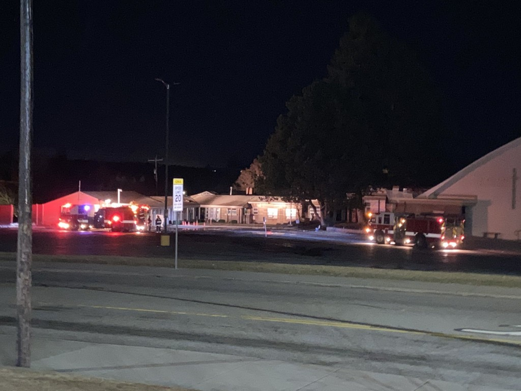fire causes extensive damage to north