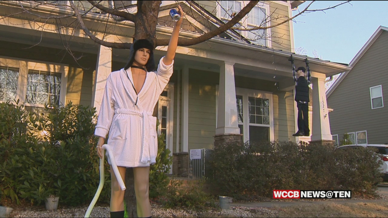 Controversy Over Christmas Vacation Themed Decorations Wccb Charlotte S Cw