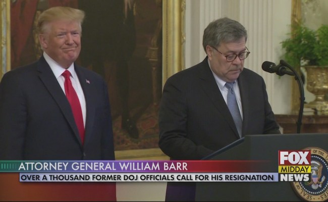 Over 1 000 Former Doj Officials Call For William Barr S
