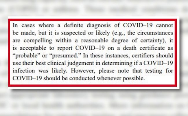 Prmc Doctor Explains Circumstances When Covid 19 Is Listed