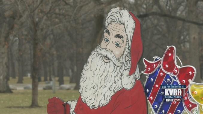 Holiday Lights at Lindenwood Park begins on Thanksgiving – KVRR Local News