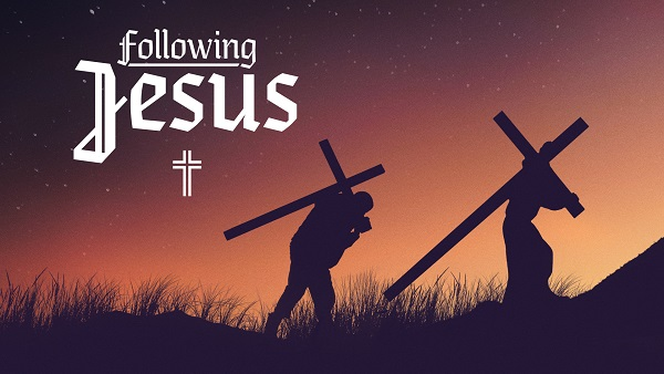 Image result for following jesus