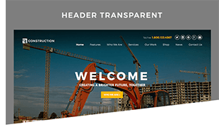 Header Transparent