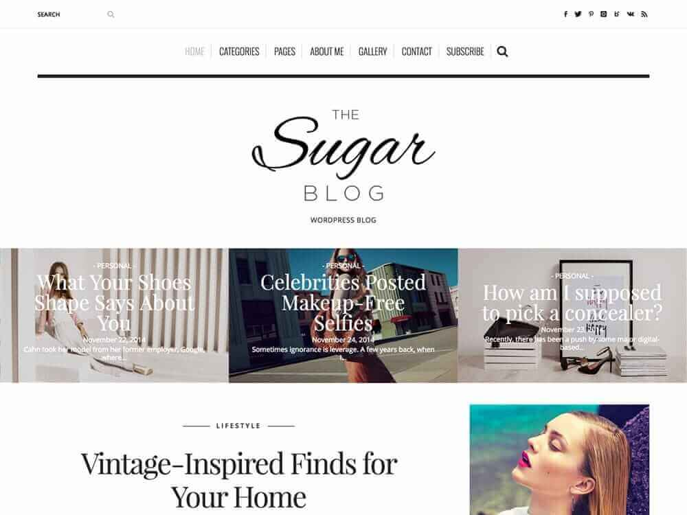 theme-wordpress-sugarblog