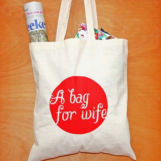 BAG FOR WIFE TOTE