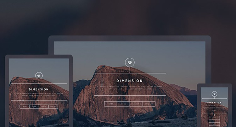 Dimension-free_html5_templates