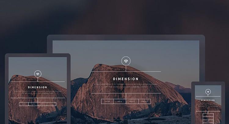Dimension-free_html5_templates