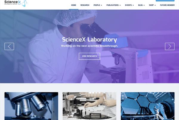 Science-X WP Education Theme