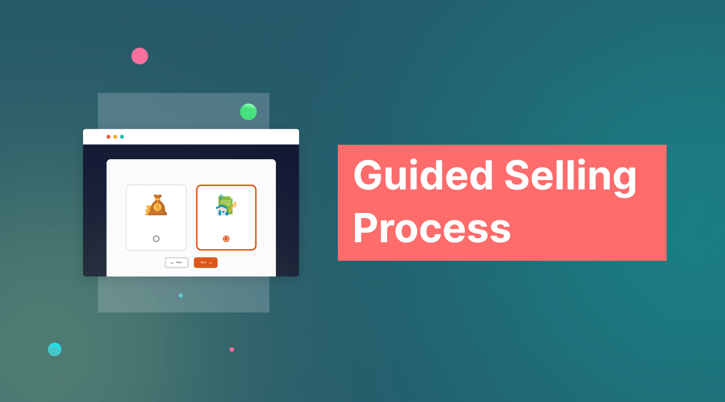 Guided Selling Process