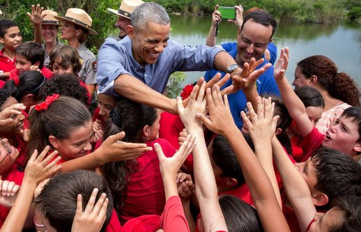 The Obama Foundation WordPress website