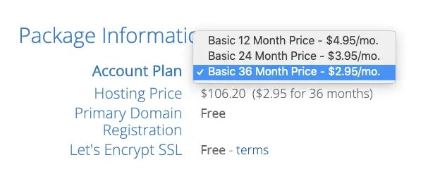 bluehost-account-plan