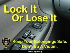 Lock Your Car!