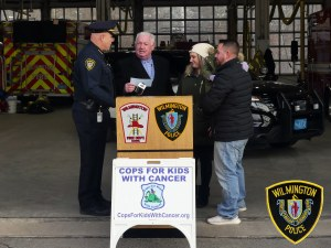 WILMINGTON FAMILY AWARDED $5,000 FROM COPS FOR KIDS WITH CANCER