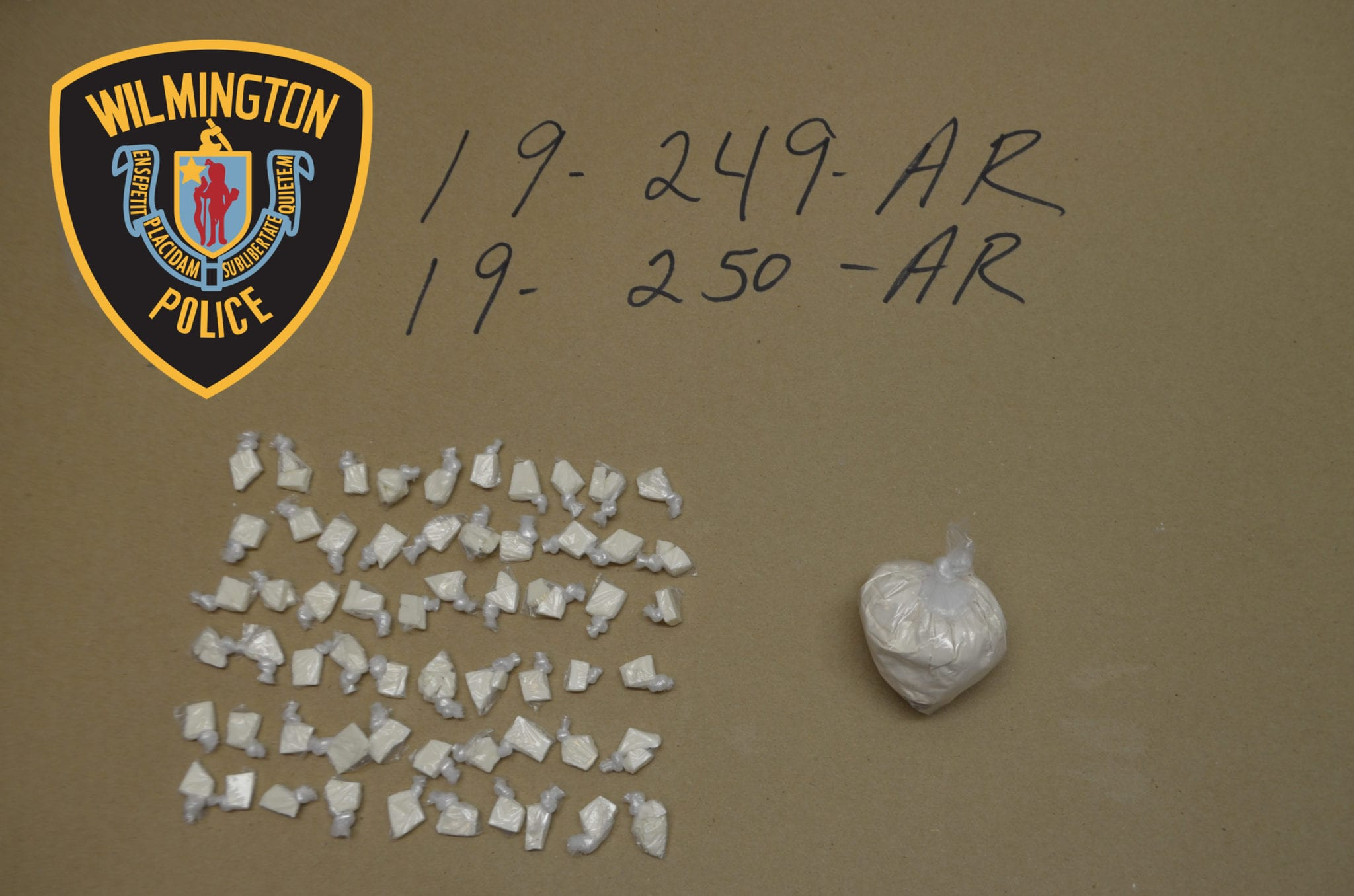 Wilmington Police Arrest Two on Cocaine & Fentanyl Charges