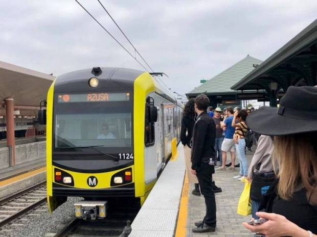 Federal, local leaders visit Montclair 'Gold Line' expansion site as project partners push for funding