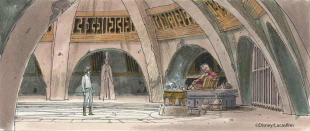 Disneyland's Star Wars cantina nearly had alien bartenders and underwater animatronics