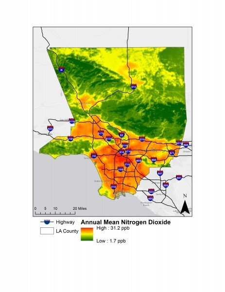 Who is hit hardest by coronavirus in LA County? The answer is in the air, UCLA study says