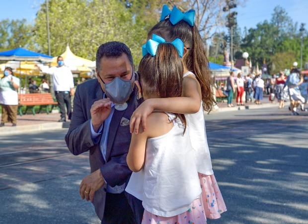 Disneyland president says reopening symbolizes hope and optimism after yearlong closure