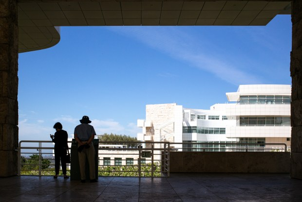Normal life is indeed returning: The Getty has reopened