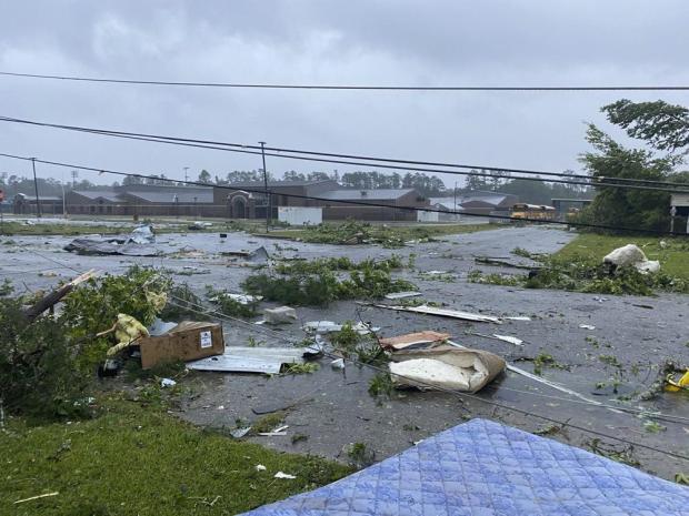 12 dead in Alabama due to Claudette storm, including 10 children