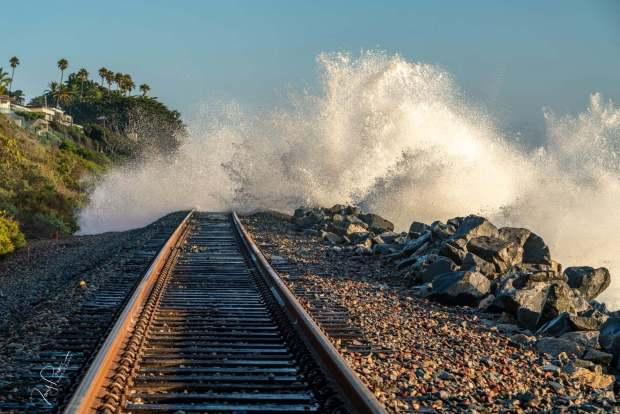 Railroad stabilization underway on OC Coast, while passengers scramble to find rides