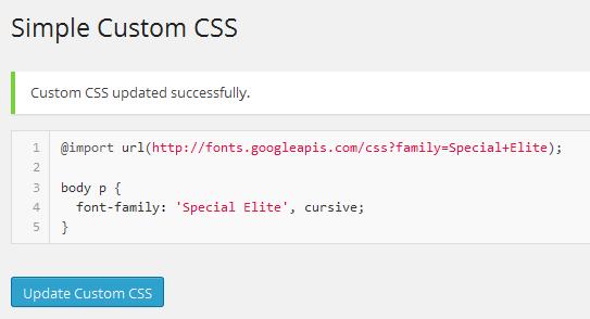 fonts-custom-css