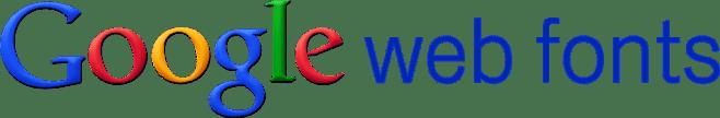 google-web-fonts