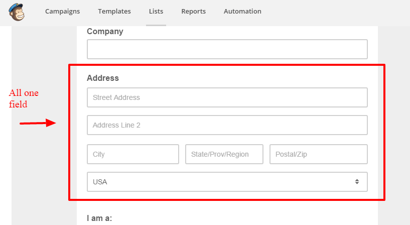 Form and Email Designer   MailChimp