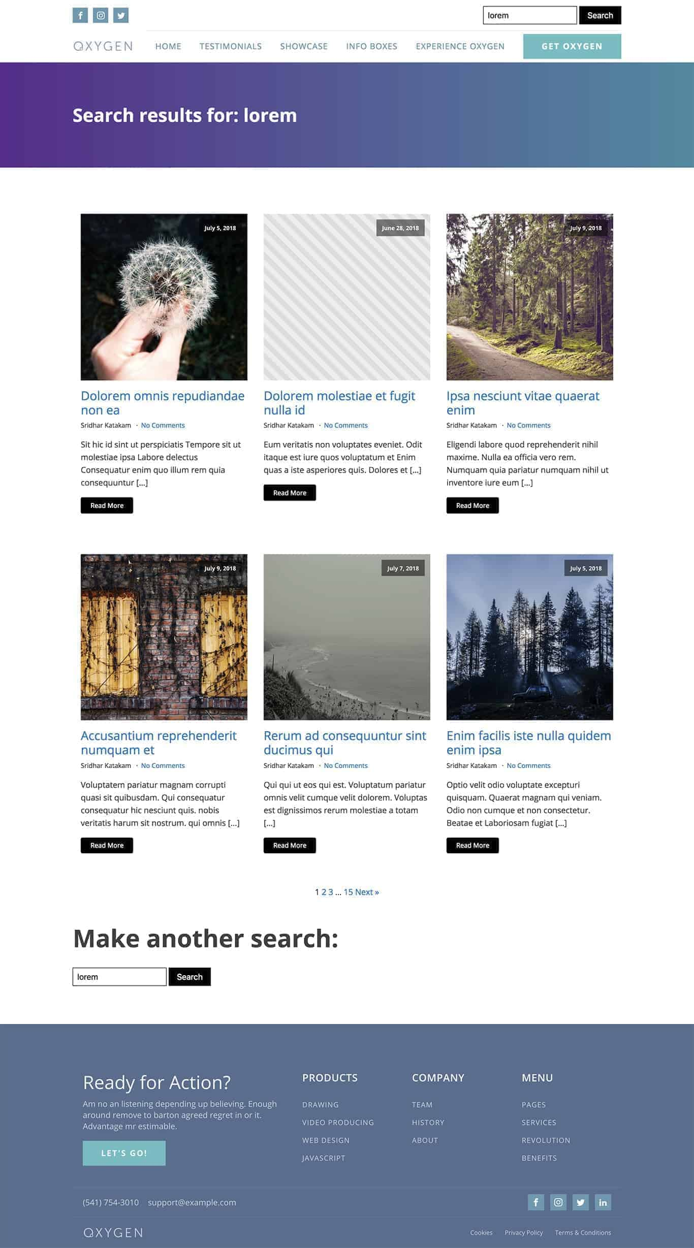 How To Create A Search Results Page In Oxygen Wpdevdesign
