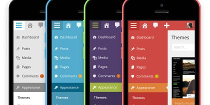 WordPress 3.8 color schemes