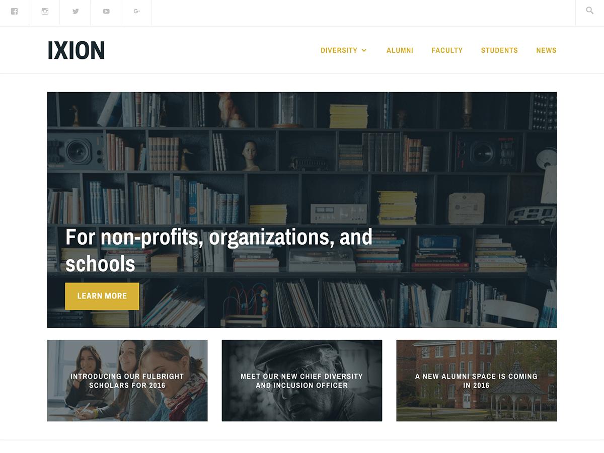 Ixion Download Free WordPress Theme 【2020】