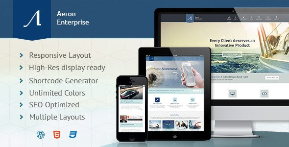 Aeron WordPress Theme