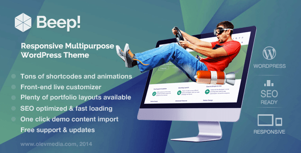 Beep WordPress Theme