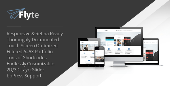 Flyte WordPress Theme